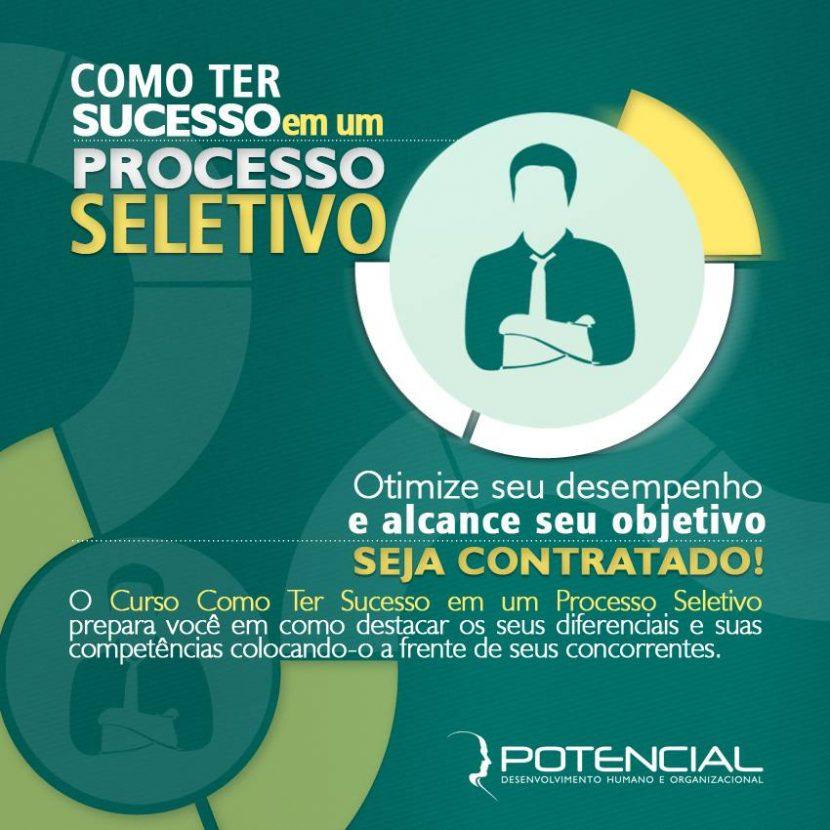 Curso Potencial - Como ter sucesso em um processo seletivo.