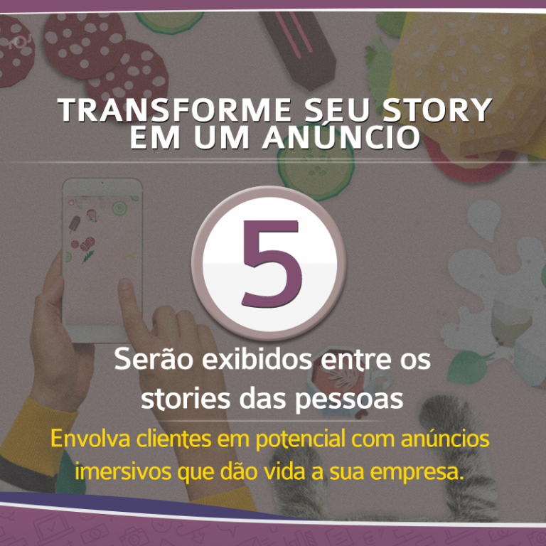 Transforme seu story em um anúncio sem distrações